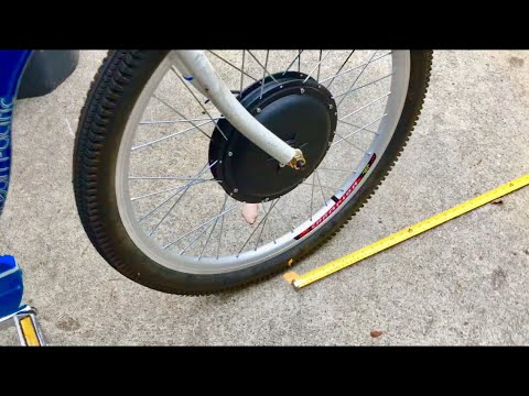 Bike Speedometer Wheel Size Measurement