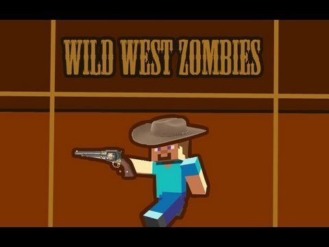 Call of Duty Zombies in Minecraft Xbox 360 - Wild West preview