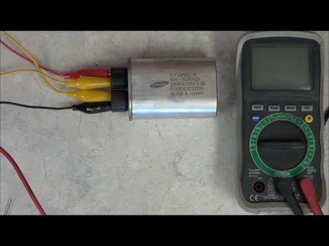 How to test the Microwave Oven's HV Capacitor