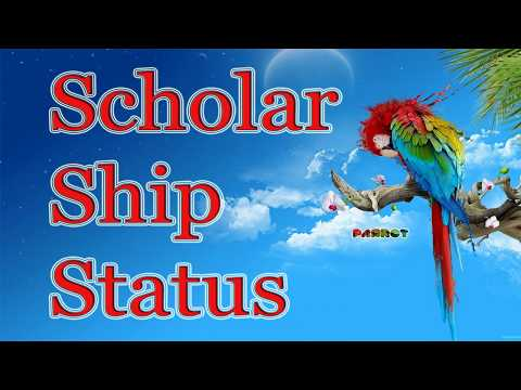 scholarship status