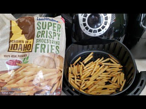 Air Fryer Super Crispy Shoestring Fries Lamb Weston