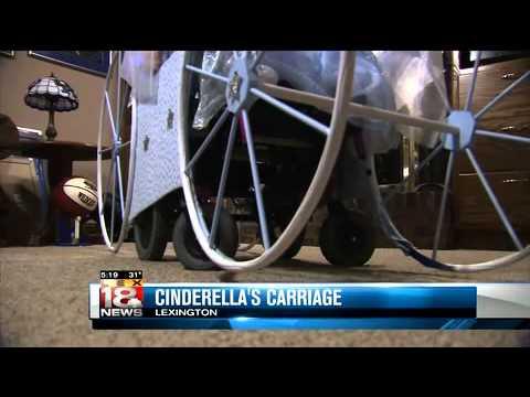 Wheelchair Cinderella's Carriage