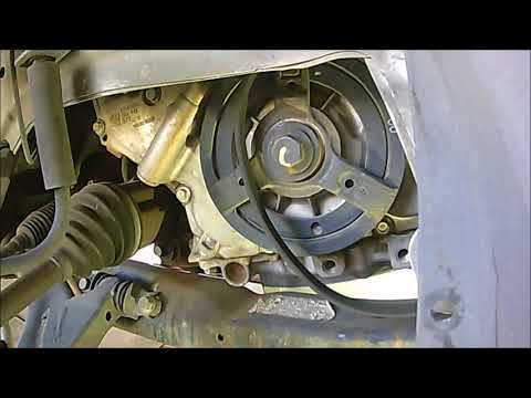 2005-2010 Chevy Cobalt serpentine belt replacment on a 2.2Litter Ecotech
