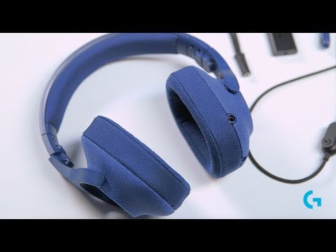Logitech G with G433 7.1 Gaming Headset