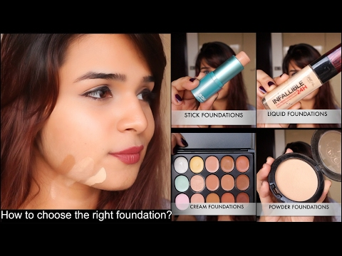 HOW TO CHOOSE THE RIGHT FOUNDATION & SHADE FOR YOU ~DETAILED~