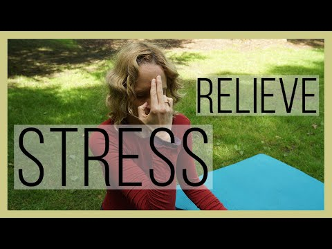 Yoga helps relieve Stress, Anxiety, Sleeplessness, and Lack of Energy