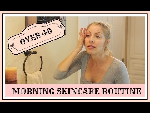 My Over-40 Anti-Aging Morning Skin Care Routine