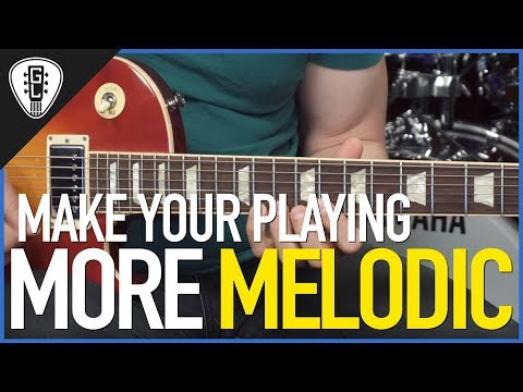 Make Your Playing More Melodic - Minor Scale Guitar Lesson #2