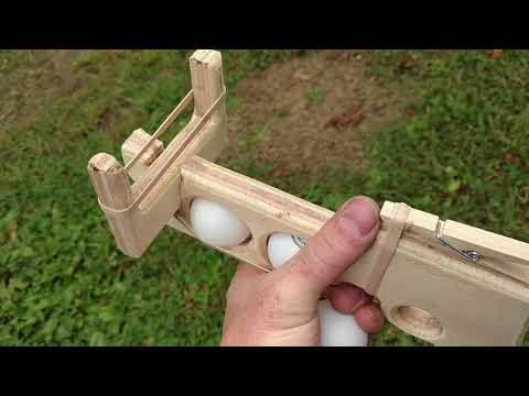 Ping Pong Ball Gun (Toy Challenge)