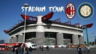 San Siro Stadium Tour [HD]: Home ground of AC Milan and Internazionale