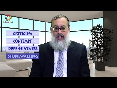 How to Argue without Hurting the Marriage - Rabbi Daniel Schonbuch