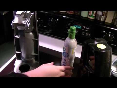 SodaStream - Changing CO2 Cartridge