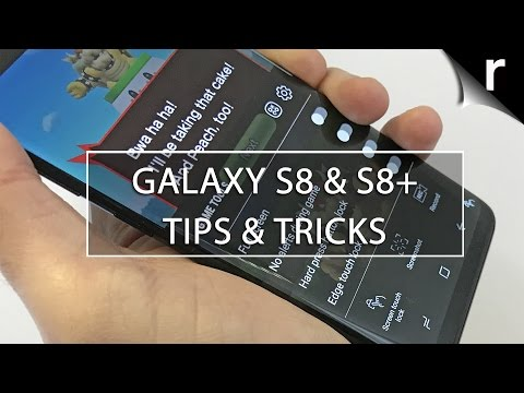 Samsung Galaxy S8 and S8 Plus Tips & Tricks: Best features