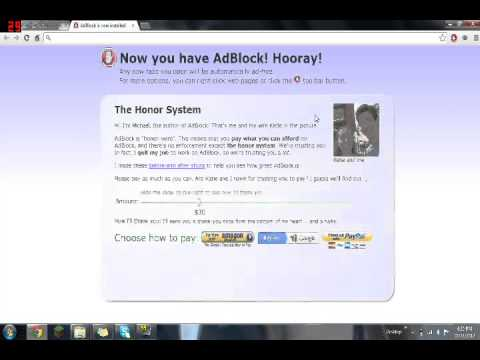 How to Remove ads on Google Chrome!