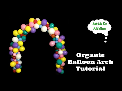 Organic Balloon Arch Tutorial