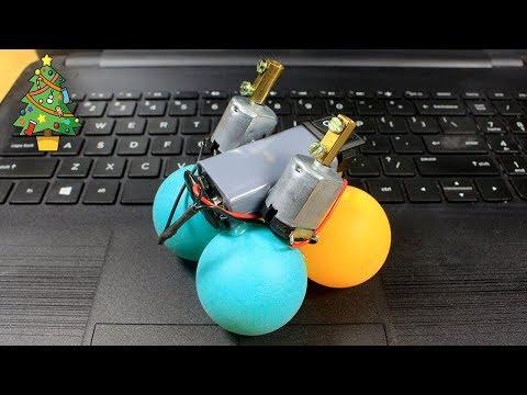 How to Make a Crazy Robot Using DC Motor - Awesome DIY