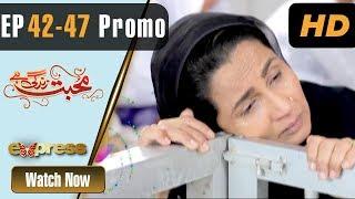 Pakistani Drama | Mohabbat Zindagi Hai - Episode 42 - 47 Promo | Express Entertainment Dramas