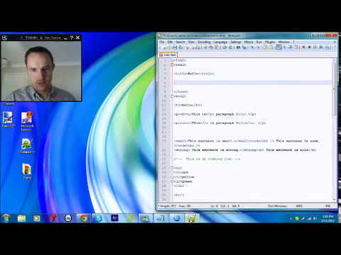 Web Site Tutorial Part 4 - Making Links in HTML