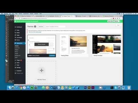 Developing a WordPress Theme with Bootstrap from Scratch Part 1