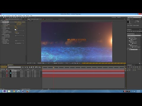 How to Make a Professional Intro in After Effects CS4, CS5, CS5.5, CS6