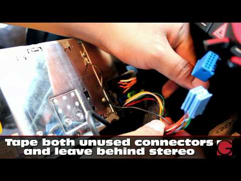 2007 Audi S4 GROM Bluetooth Car Kit Installation, Car Stereo Removal Guide