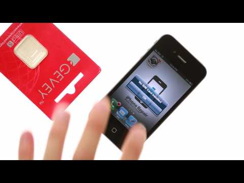 How to unlock iPhone 4S - Gevey Ultra S sim unlock