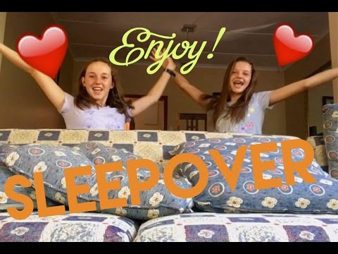 How to have the perfect sleepover