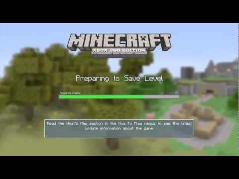 Minecraft Xbox 360 Best Village Survival World Seed!