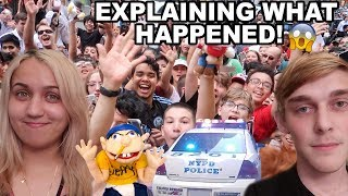 DID WE GET ARRESTED AT SML JEFFY-CON?! (Fan Meet Up)