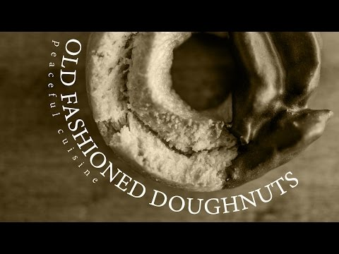 [No Music] How to make Old Fashioned Doughnuts