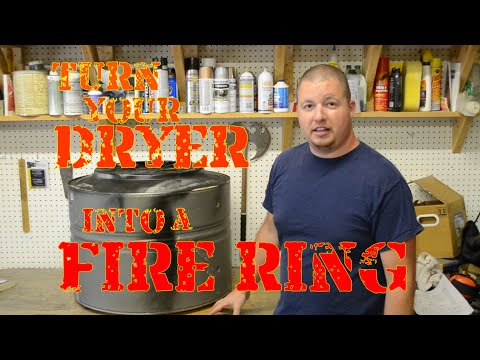 Turn Your Dryer into a Fire Ring
