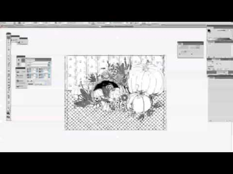 Using Live Trace (Illustrator CS4)