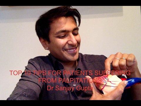 Top 10 tips for people suffering from palpitations