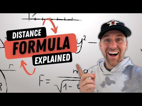 Distance Formula | TarverAcademy.com