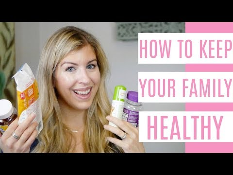 15 Tips For Keeping Your Family Healthy | Mom Hacks For Sick Kids
