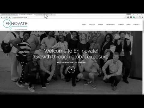 En-novate WordPress Website Tutorial Part1
