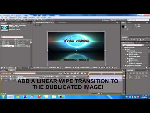Make Text/Image Reflection in Adobe After Effects