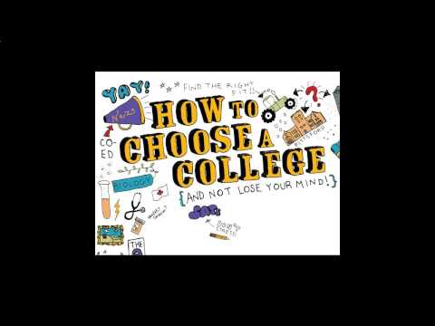How to choose a college college quiz