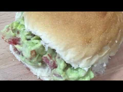 BACON, EGG AND AVOCADO SANDWICHES - Student Recipe