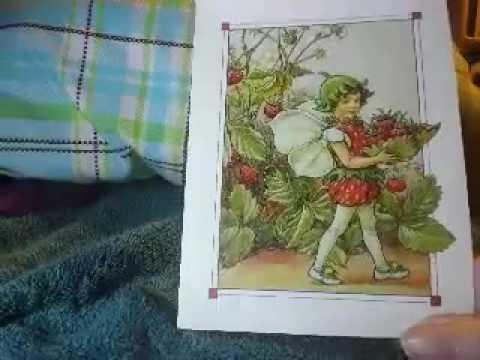 Flower Fairies Postcard Book Review