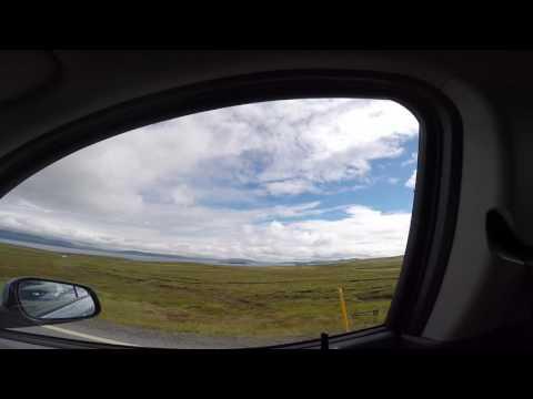 Driving from Keflavik airport to Reykjavik