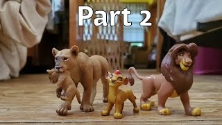 The lion king stop motion part 2