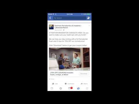 Dental Practice Facebook Marketing Video