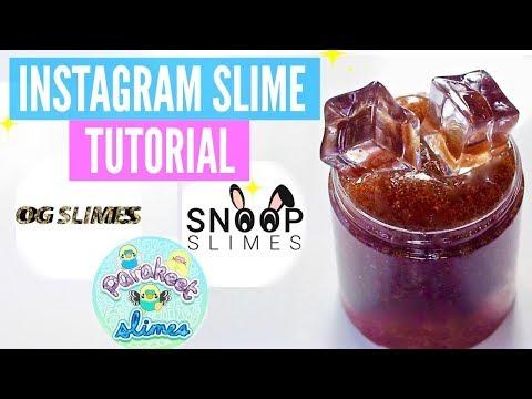 FAMOUS INSTAGRAM SLIME Recipes & Tutorials // How To Make ParakeetSlimes, SnoopSlimes & Slime_OG!