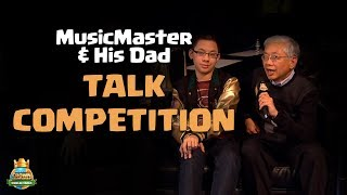 MusicMaster and his Dad Talk Competition - CCGS World Finals Interview