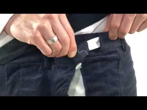 Expanding Waist Cord Trousers