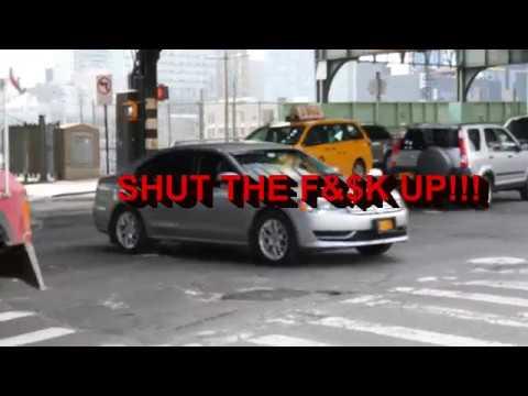 Funny NYC Road Rage during insane traffic jam
