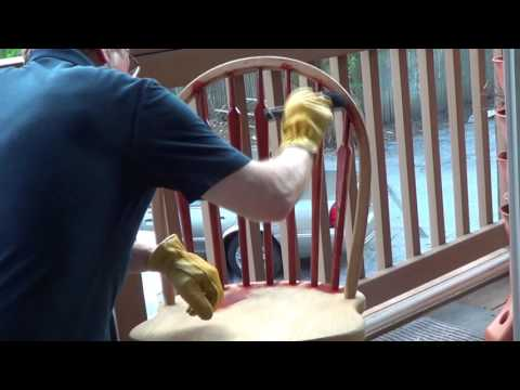 How to Apply Cabot Gold Stain to Outdoor Furniture