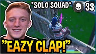 Download TFUE SHOWS WHY HE'S THE GREATEST SOLO SQUAD PLAYER! (33 KILLS) *INSANE* Video