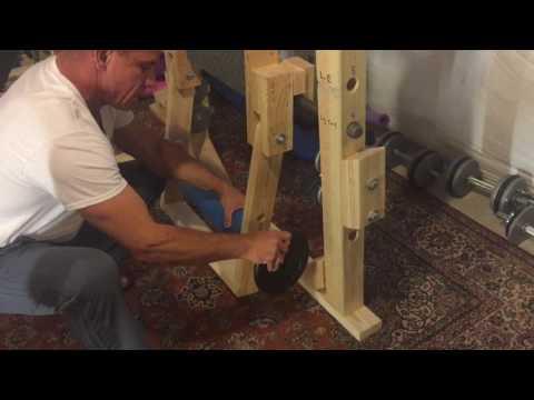 DIY Leg Curl for Power Rack